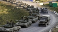 Despite warnings from US and EU, a Russian battalion of T-72 tanks close in on the Ukraine border